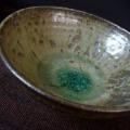 灰釉溜まり浅鉢