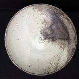 絹白釉浅鉢