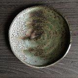 かいらぎ灰釉丸皿