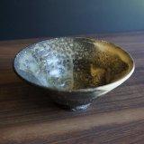粉引灰釉飯碗2